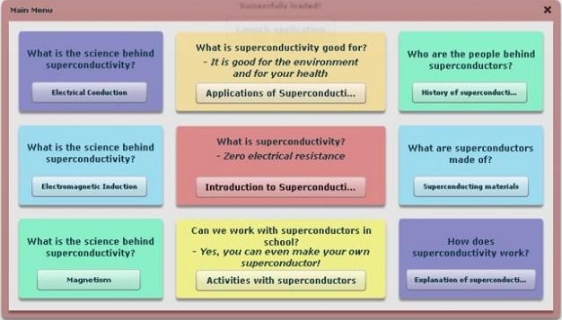 SUPERCOMET Online Modules